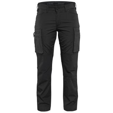 Blåkläder 715918459900C30 Arbetsbyxa med stretch, dam, svart
