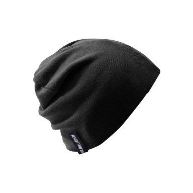 Blåkläder 201110249900onesize Stickad mössa svart