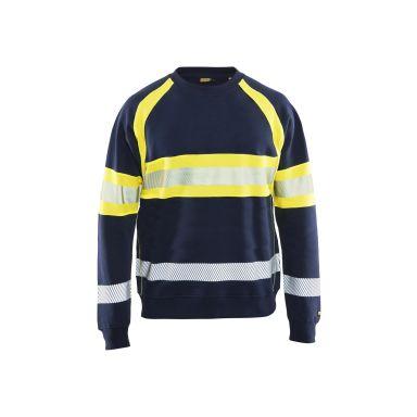 Blåkläder 335911588933XXL Varseltröja marinblå/varselgul