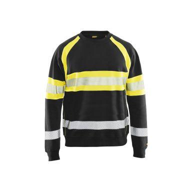 Blåkläder 335911589933XXXL Varseltröja svart/varselgul