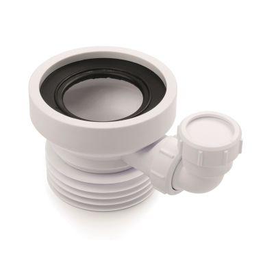 Jafo X-TRA 110 WC-stos 110 mm, med extra inlopp