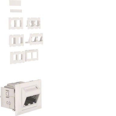 Hager G35079010 Pistorasialaatikko dataliittimille
