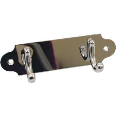 Habo 1803-3 CH Handdukshängare 45 mm, blankkrom