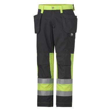 Helly Hansen Workwear Alta Arbetsbyxa varsel, gul/svart