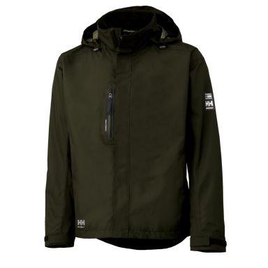 Helly Hansen Workwear Haag Fleecejacka grön, vattentät