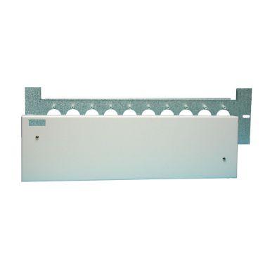 Alarmtech 5015352 Kk-boks 122 x 483 x 38 mm, med lokk