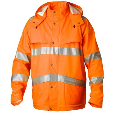 Top Swede 9394 Regnrock 84 cm, varsel, orange