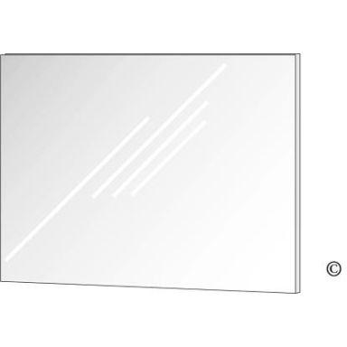 Habo 15233 Spegel 400 x 600 mm, rostfri