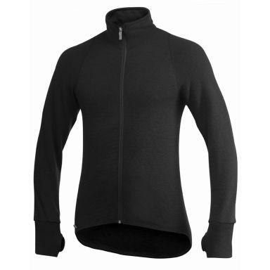 Woolpower Full zip jacket 400 Pusero musta