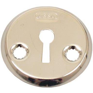 ASSA 470381160002 Nyckelskylt PP, glansförnicklad