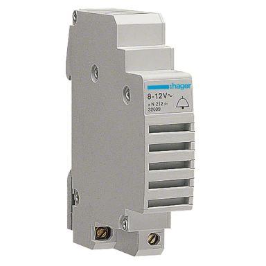 Hager SU213 Ringeklokke for montering i normsentral