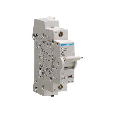 Hager MZ206 Underspänningsutlösare 230V, AC