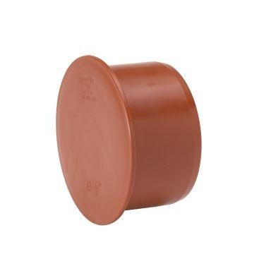 Uponor 3002071221 Lokk til grunnavløpsrør PVC, 110 mm
