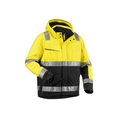 Blåkläder 487019873399L Varseljacka varselgul/svart, vinter