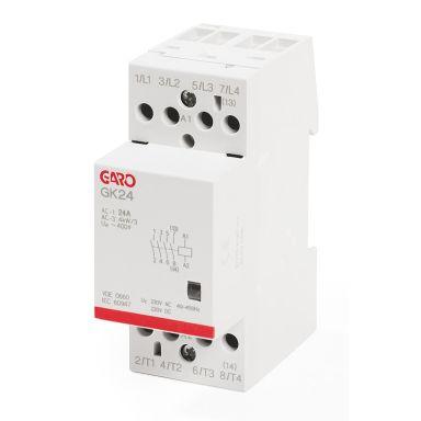Garo GK24 4NO 230V ACDC Kontaktor 4-polig, 25 A