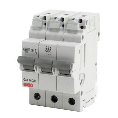 Garo MCB GQ C306 Dvärgbrytare 3-polig, C-karakteristik