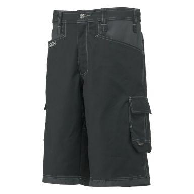 H/H Workwear Chelsea Arbetsshorts svart/grå