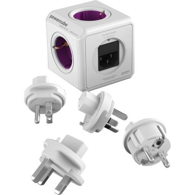 allocacoc PowerCube Reseadapter 2300 W