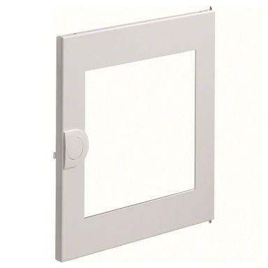 Hager VZ131N Dörr med plexiglasruta, vit