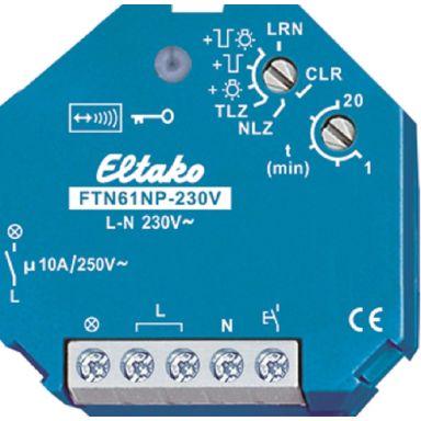 Eltako 30100130 Trappljusautomat 868 MHz, 230V AC, IP30