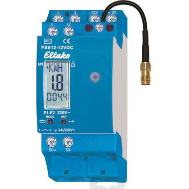 Eltako 30100600 Energimätare FSS12-12V DC