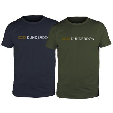 Dunderdon T4 T-shirt marinblå/grön