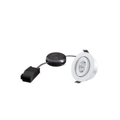 Designlight P-007MW27D Downlight 6,8 W, vit