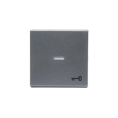 ABB 1789TR-83 Enkeltvippe 1-veis, hvit linse, nøkkel