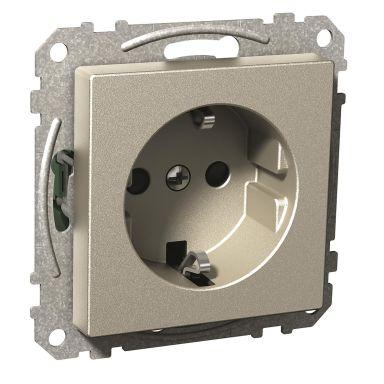 Schneider Electric Exxact Vägguttag 250 V, jordat