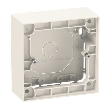 Elko Plus Forhøyningsramme 35 mm, hvit