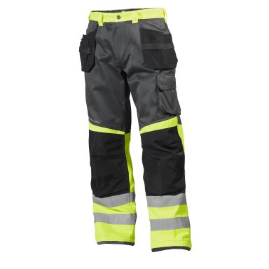 Helly Hansen Workwear Alna Arbeidsbukse varsel, gul/svart