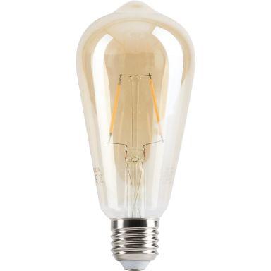 Gelia Retro LED-lampa 250 lm, guld