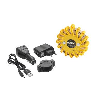 Ironside 422083 Varningslampa med batteri och 12V-laddare