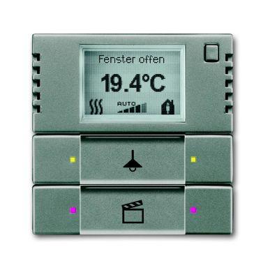 ABB 6134-0-0336 Termostaattinäyttö 2-napainen