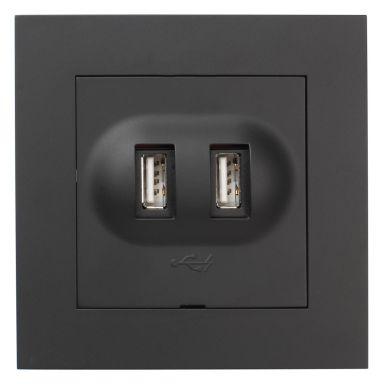 Elko EKO05985 Ladduttag USB 2.1A, PLUS