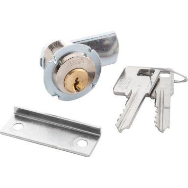 ASSA 8450 Skåplås GDS/SB, 2 nycklar