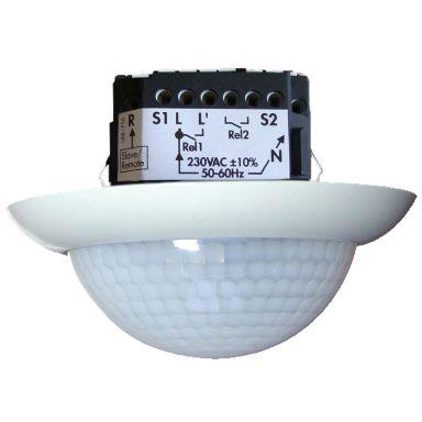 Rutab 92252 Närvarosensor 360°, 10-2000 lx, IP20