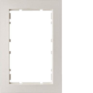 Hager 6510111909 Kombinationsram 2-vägs, S1, polarvit