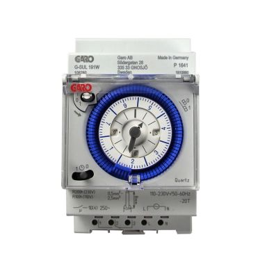 Garo V3MMEK Kopplingsur 110-230V, veckour