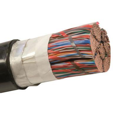 Nexans ELALE Telekabel 20x2x0,5 mm, svart