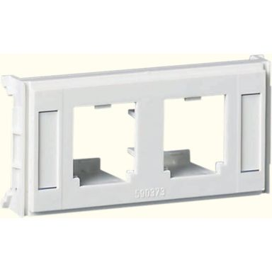 Schneider Electric 5971737 Monteringsbricka central täckplatta, 1 modul