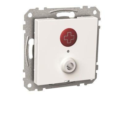Schneider Electric WDE002245 Nödsignalknapp för montage i apparatdosa c/c 60mm