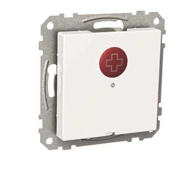 Schneider Electric WDE002243 Nödknapp för montage i apparatdosa