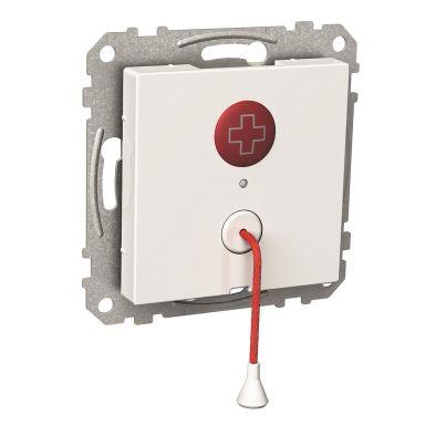 Schneider Electric WDE002247 Nödknapp för montage i apparatdosa