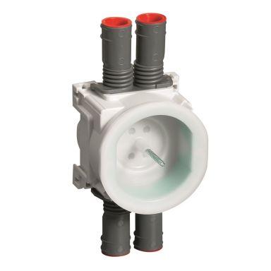 Schneider Electric IMT36139 Apparatboks hvit/grønn, 16