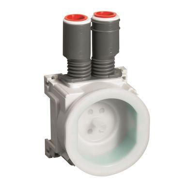 Schneider Electric IMT36136 Apparatdosa med putslock, 2 stutsar