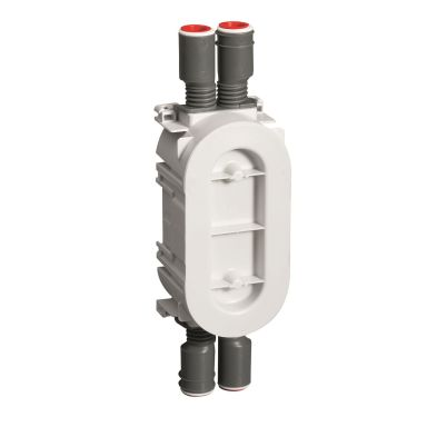 Schneider Electric IMT36205 Kaksoisrasia 13/26 mm, valkoinen