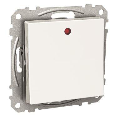 Schneider Electric Exxact Ohjauskytkin punainen LED-merkkivalo, IP21