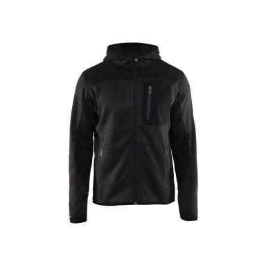 Blåkläder 493021179799XXXL Jacka antracitgrå/svart, stickad