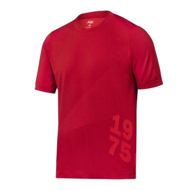 Snickers 2519 FlexiWork T-shirt röd